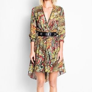 Zadig & Voltaire Roumi Wrap Style Dress